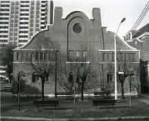 Main Façade of the Parkdale Curling club/Pavlova/Masaryk Memorial Institute – 1991; OHT, 2006