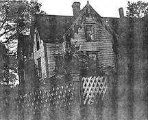 This photo was taken ten years after Reverend Hughes sold his house to Captain James Blight; Village of Hillsborough, William Henry Steeves House Museum archives