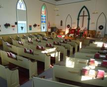 This sanctuary has been home to a devout and robust congregation for 149 years.; Village of Hillsborough