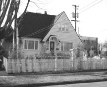 Exterior view of the Armitage House; City of New Westminster, 2008