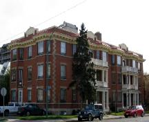 View of front façade of 1901-14th Avenue from North East, 2005.; Government of Saskatchewan, Bruce Dawson, 2005.