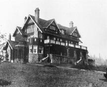 Fairacres Mansion in 1914; Ceperley Album, City of Burnaby Planning and Building Department Collection