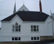 Zion Lutheran Church, Old Town Lunenburg, Artemus Hall, 2004; Heritage Division, NS Dept. of Tourism, Culture and Heritage, 2004