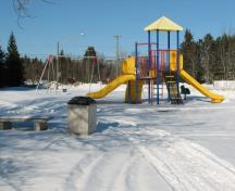 This park is located at the corner of Main Street and Parkin and extends to the Petitcodiac River; Village of Salisbury
