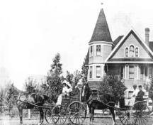 Historic view of Campbell House; Greater Vernon Museum & Archives photo #4716, 1910