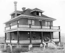Second Crowell House; Greater Vernon Museum and Archives photo #3589, 1915