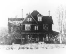 Spinks/Ellison House; Greater Vernon Museum & Archives photo #8583, 1910