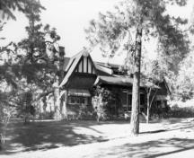 Historic view of Urquhart House; Greater Vernon Museum and Archives photo #19945, no date