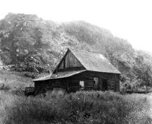 Girouard Cabin; Greater Vernon Museum and Archives photo #1505, no date