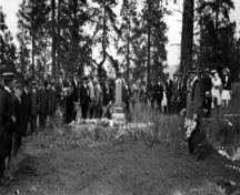 Pleasant Valley Cemetery; Greater Vernon Museum and Archives photo #1694, c. 1910