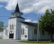 St. Norbert's Church, Old Town Lunenburg, front façade, 2004; Heritage Division, NS Dept. of Tourism, Culture and Heritage, 2004