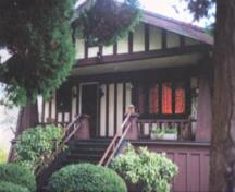 Tapley House, exterior view,  2004; Corporation of the District of Oak Bay, 2004