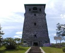 Dingle Tower, north elevation, Sir Sandford Fleming Park, Halifax, 2004.; Halifax Regional Municipality, 2004