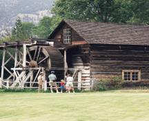 Grist Mill exterior; BC Heritage Branch