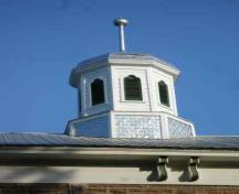 Cupola and eave detail; RHI 2006
