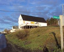 The Seal Cove School building as it is in 2010 as Frosty's Convenience Kwik Way and Post Office; Grand Manan Historical Society