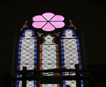 Stained glass windows; Village of Dorchester
