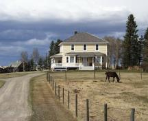 The Perrenoud Homestead Provincial Historic Resource (April 2000); Alberta Culture and Community Spirit, Historic Resources Management, 2000