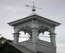 Detail of bell housing on the roof; RHI 2006