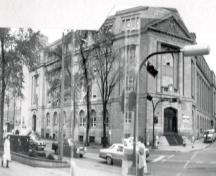 Federal Building, former Dominion Public Building Recognized Federal Heritage Building; (Public Works Canada, 1984.)