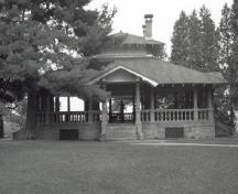 General view of the Rockcliffe Pavilion, 1994.; Roving Recorders, 1994.