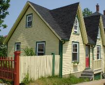 Jost House, west and front façade, 2004; Heritage Division, Nova Scotia Department of Tourism, Culture and Heritage, 2004