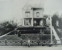 Ashlea House, New Town Lunenburg, ca. 1900; Courtesty Fisheries Museum of the Atlantic