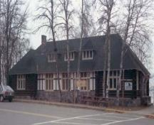 View of the Nature Centre façade, 1986.; Agence Parcs Canada / Parks Canada Agency, 1986.