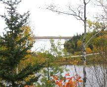 View north at the narrows, 2004.; Government of Saskatchewan, Marvin Thomas, 2004.