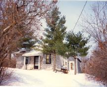 General view of the Defensible Lockmaster's House, 1987.; Parks Canada Agency / Agence Parcs Canada, 1987.