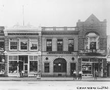 Calgary Milling Company Building (aka The John Irwin Co.) from the north (circa 1924); Glenbow Archives, NA-2575-38