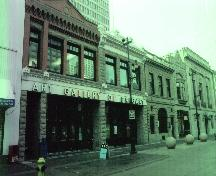 View of the Calgary Milling Company Building and adjacent Calgary Cattle Company/Pioneer Building from the northeast (January 2005); Alberta Culture and Community Spirit, Historic Resources Management Branch, 2005