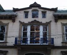 Palladian window and balcony, the Benjamin Wier House, Halifax, 2004; Heritage Division, Nova Scotia Department of Tourism, Culture and Heritage, 2004