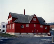 General view of the Carpenter's Shop at the Central Experimental Farm, Ottawa.; Agence Parcs Canada / Parks Canada Agency