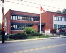 General view of the Federal Building in Lacolle, Quebec, 1997.; Parks Canada Agency / Agence Parcs Canada, 1997.