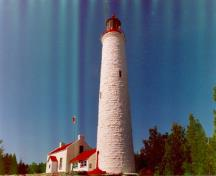 General view of Lightstation: Annex.; Department of Fisheries & Oceans Canada/Département de pêches et océans Canada