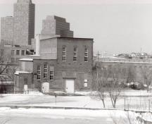 General view of the Ottawa Electric Railway Company Steam Plant, 1991.; Agence Parcs Canada / Parks Canada Agency, E. Tumak, 1991.