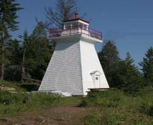 Pilot Bay Lighthouse; Ministry of Environment, BC Parks, 2010