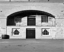Front view of the Redoubt, 1996.; Graham, 1996.
