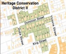 Map of Heritage Conservation District II, Truro, 2004; Courtesy of the Town of Truro