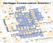 Map of Heritage Conservation District I, Truro, 2004; Courtesy of the Town of Truro