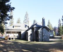 Fintry Manor House; Ministry of Environment, BC Parks, 2010