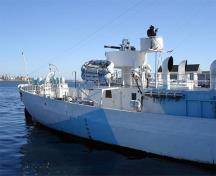 General view of the HMCS Sackville, 2006.; none, 2006