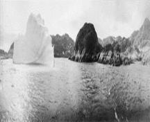 Panoramic view of the entrance to Blacklead Island, 1903.; Library and Archives Canada \ Bibliothèque et Archives Canada, A.P. Low, 3203732, 1903.