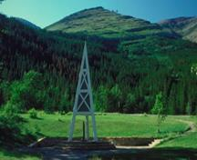 General view of the First Oil Well in Western Canada, 1993.; Parks Canada Agency / Agence Parcs Canada, 1993.