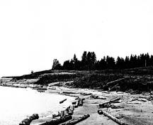 General view of the Pic River Site near the mouth of the river.; Parks Canada Agency/Agence Parcs Canada