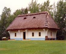 Ukrainian Pioneer Home Classified Federal Heritage Building; (Elk Island National Park [EINP], 1992.)