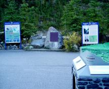 General view showing the plaque.; Parks Canada Agency / Agence Parcs Canada