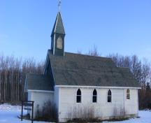 View of the All Saints Anglican Church, Clear Hills County (November 12, 2009); Clear Hills County, 2009