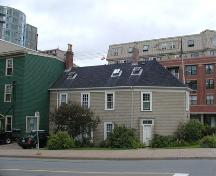 Rear elevation, Bollard House, Halifax, 2005.; Heritage Division, NS Dept. of Tourism, Culture and Heritage, 2005.